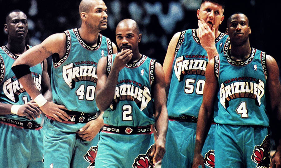 NBA Vancouver Grizzlies