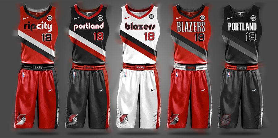 Begley NBA Portland Trail Blazers