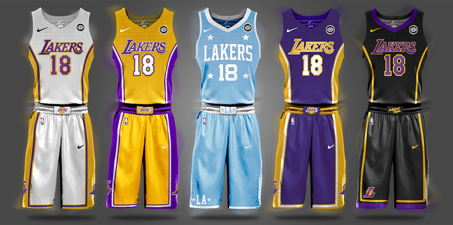 Begley NBA Los Angeles Lakers