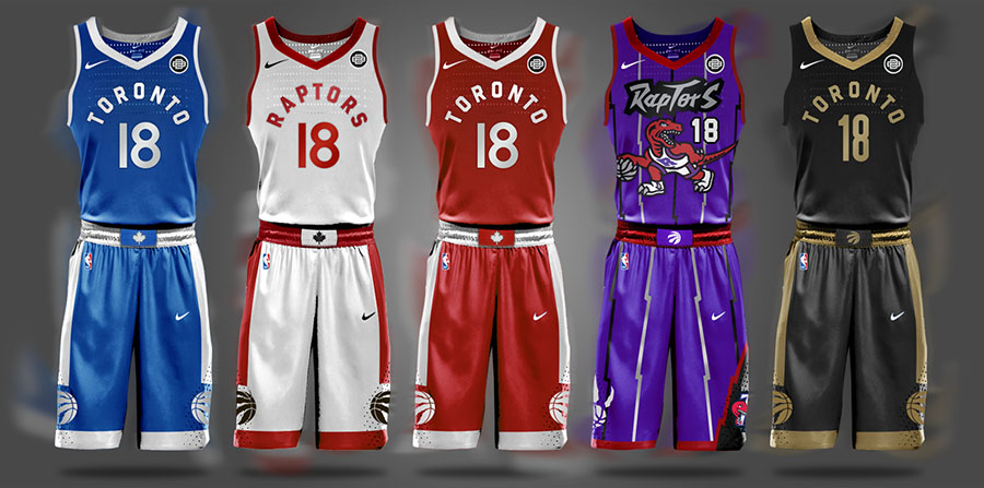 Begley NBA Toronto Raptors