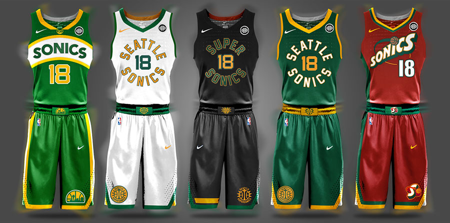 Begley NBA Seattle SuperSonics