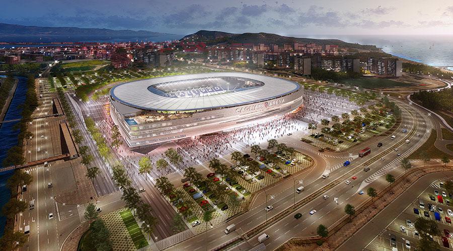 Cagliari nuovo stadio