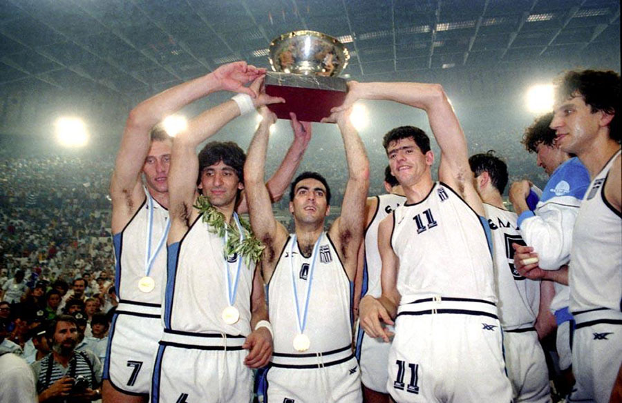 Grecia 1987 vittoria basket