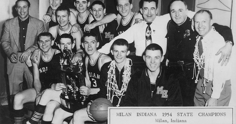 indiana hickory milan high school 1954