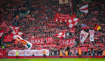 Kop Liverpool canzoni