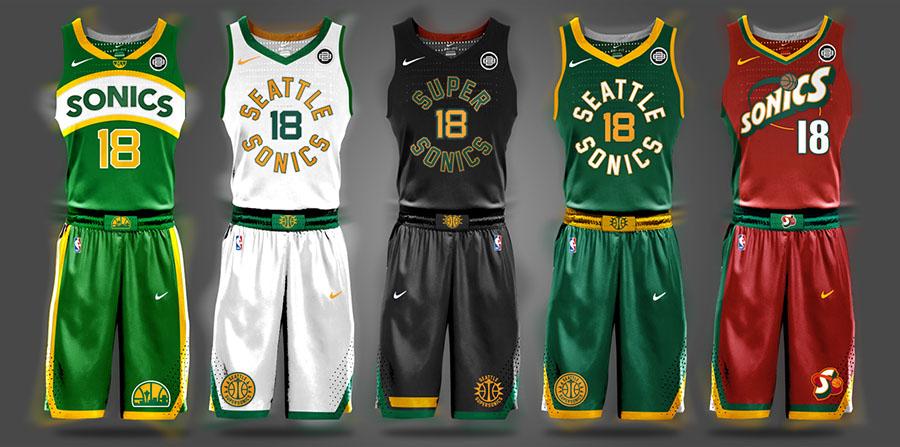 Begley NBA Seattle SuperSonics