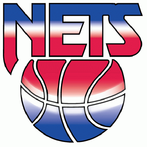 logo new jersey nets 90