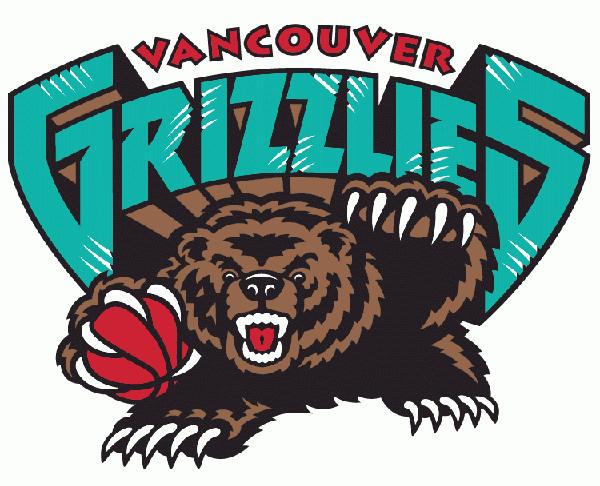 logo vancouver grizzlies nba