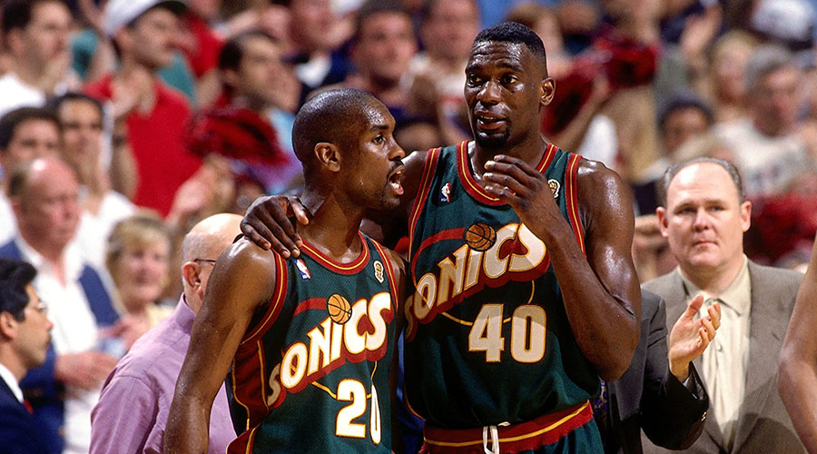 Seattle SuperSonics Payton Kemp