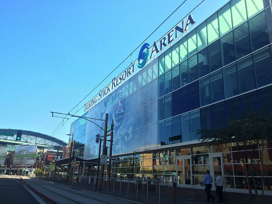 phoenix suns talking stick resort arena