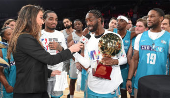 famous los mvp nba all-star celebrity game