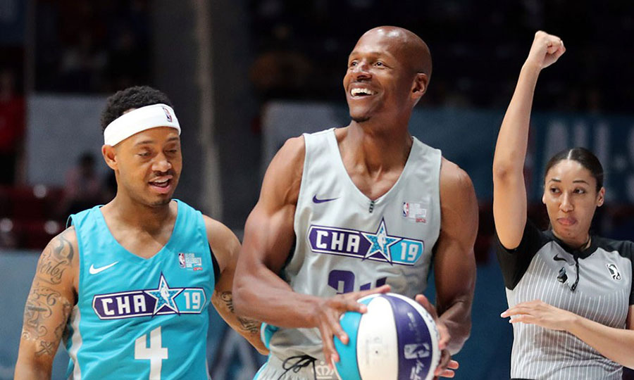 ray allen nba all-star celebrity game