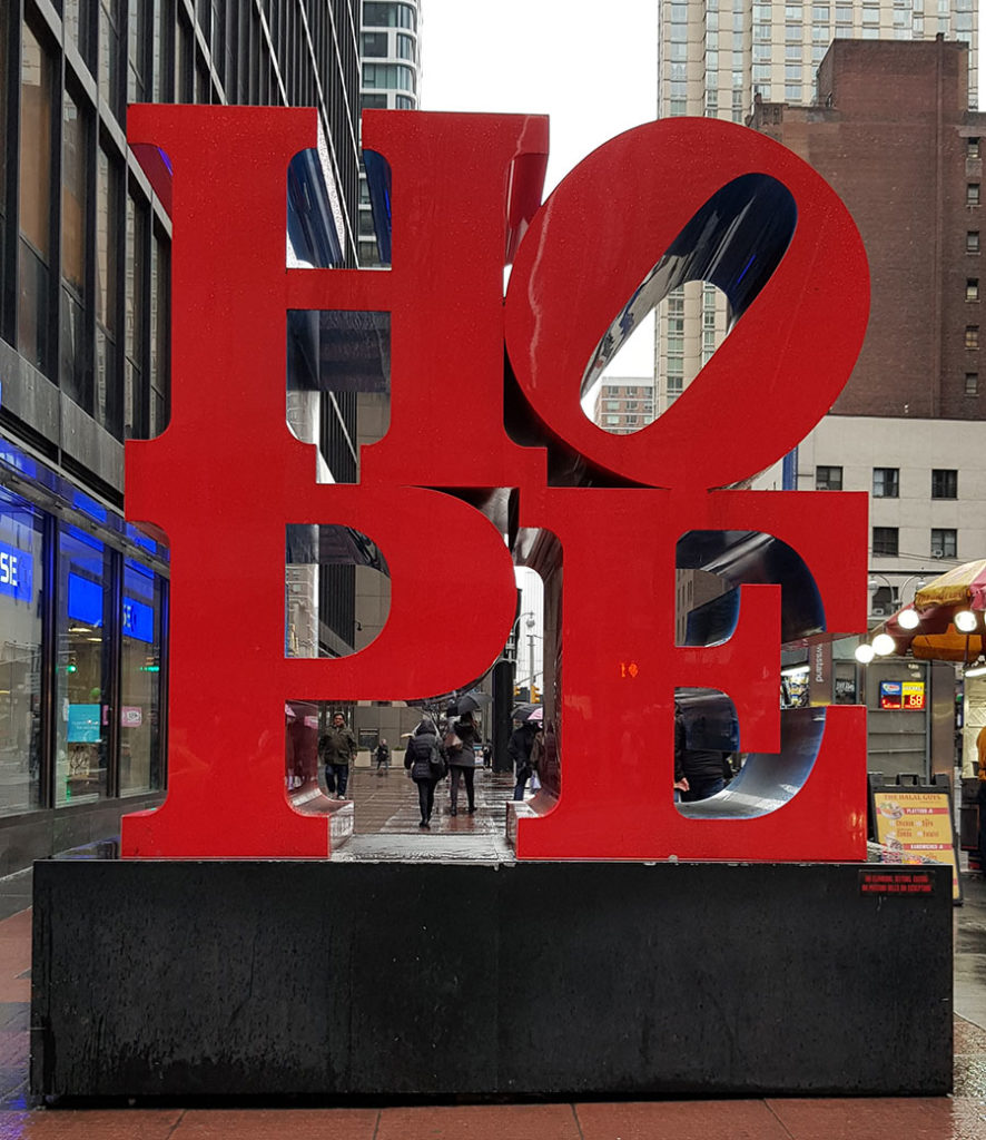 new york hope robert indiana