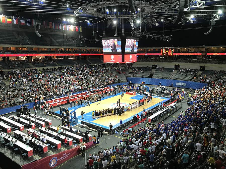 arene eurobasket 2021 O2 arena praga