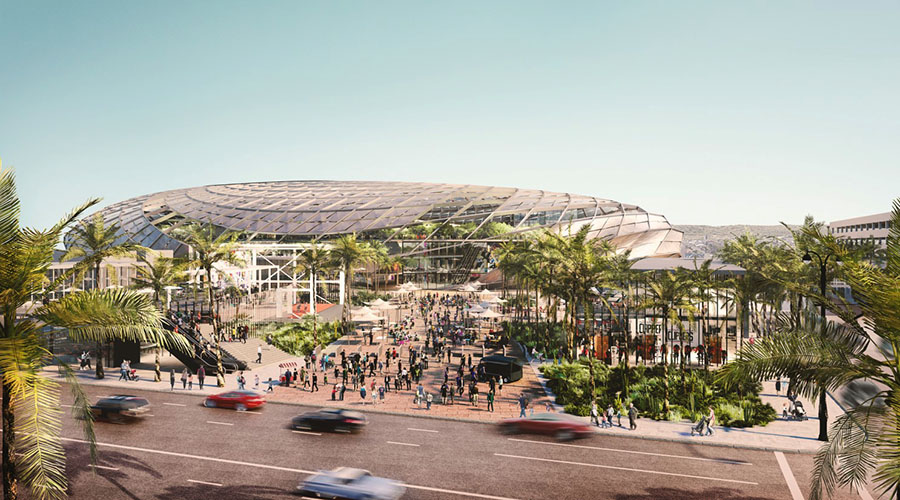 los angeles clippers nuova arena inglewood