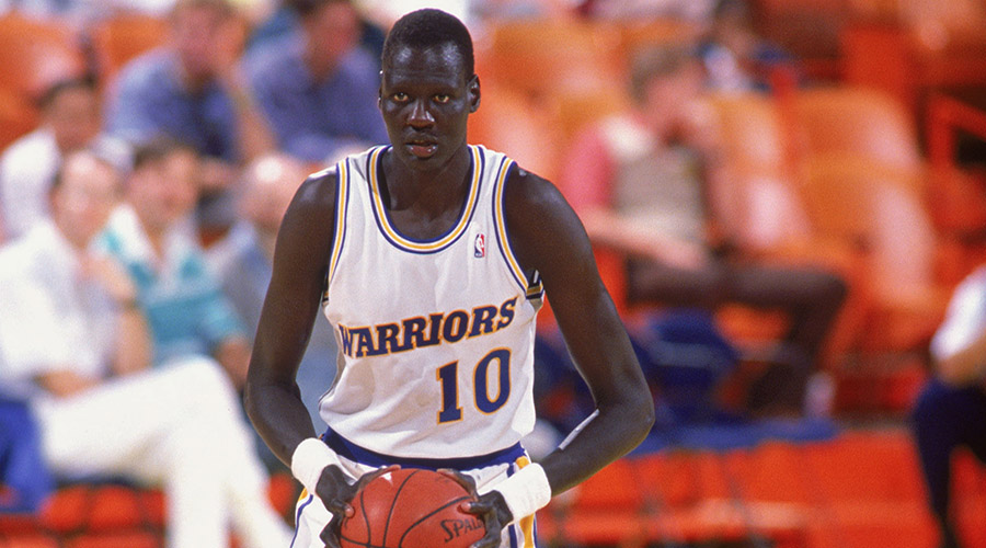 giocatori nba più alti manute bol golden state warriors
