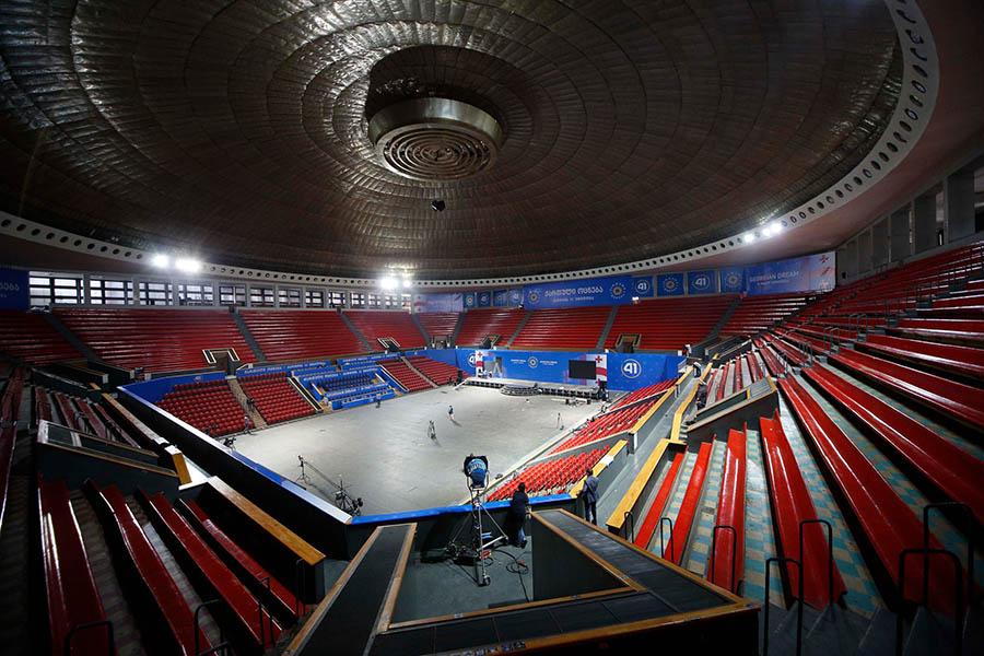 arene eurobasket 2021 tbilisi sports palace georgia