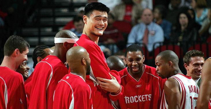 giocatori nba più alti yao ming houston rockets