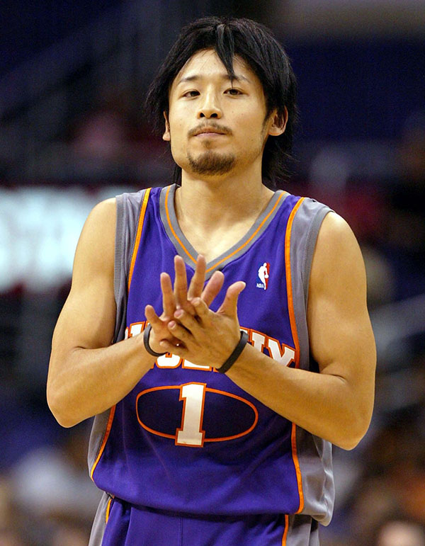 giocatori giapponesi in nba yuta tabuse phoenix suns