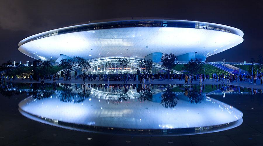 arene dei mondiali di basket 2019 cina mercedes-benz arena shanghai