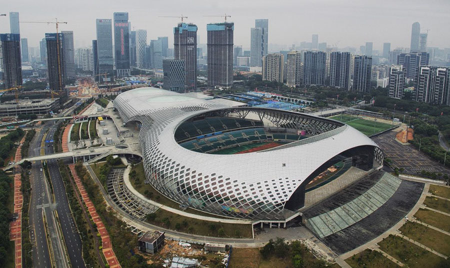 shenzhen bay sport center