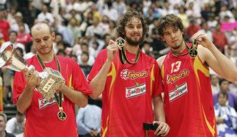storia dei mondiali di basket spagna campione 2006