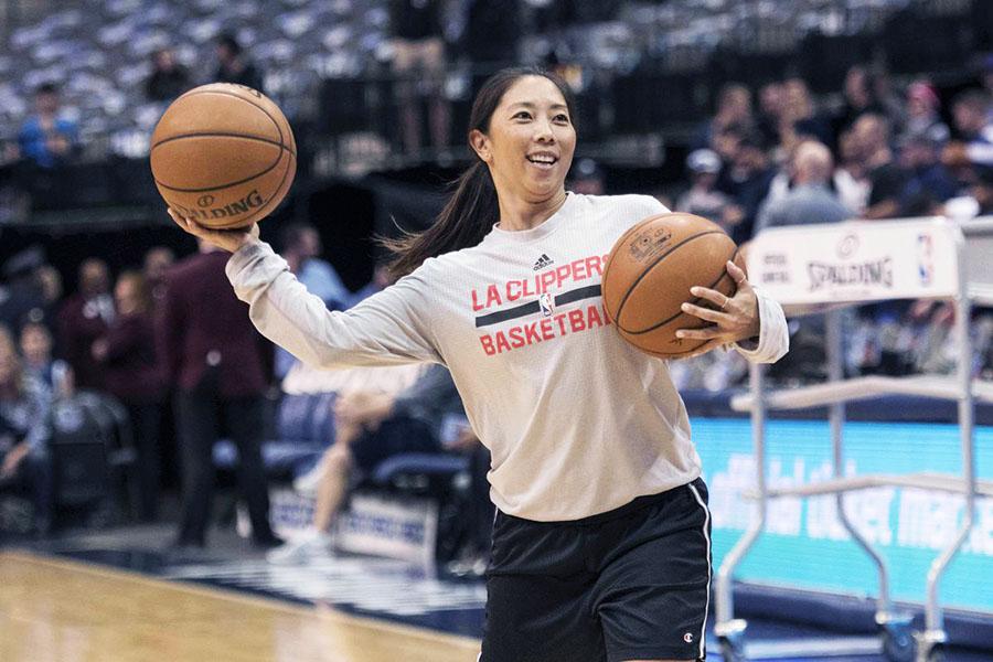 donne che allenano in NBA natalie nakase