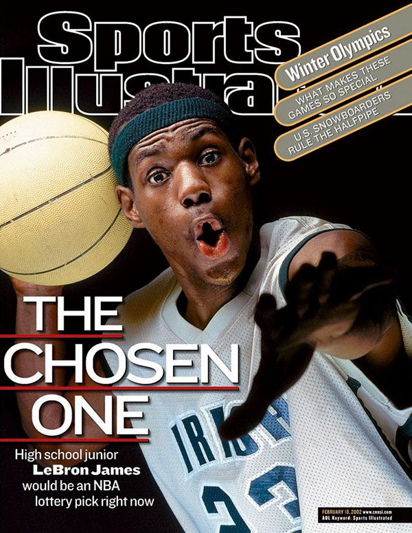 lebron james cover sports illustrated