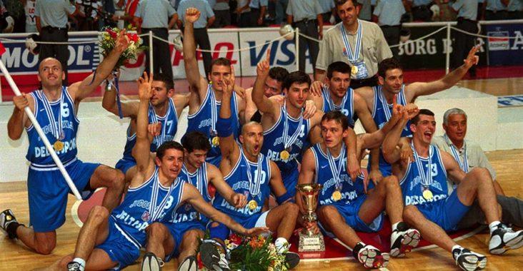 jugoslavia campione del mondo mondiali di basket 1998