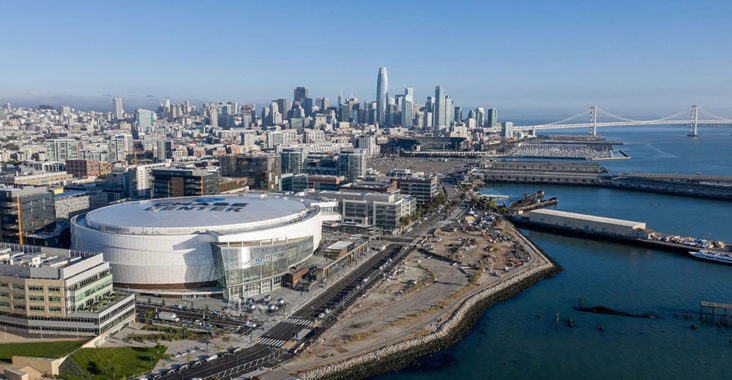 chase center san francisco golden state warriors