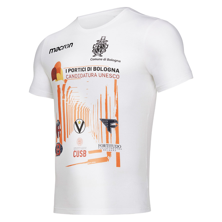 bologna t-shirt portici unesco