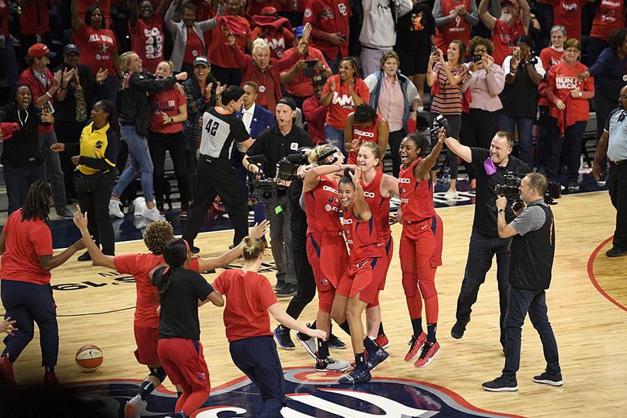 washington mystics campionesse WNBA 2019
