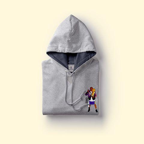 felpe cappuccio hoodie droq champion