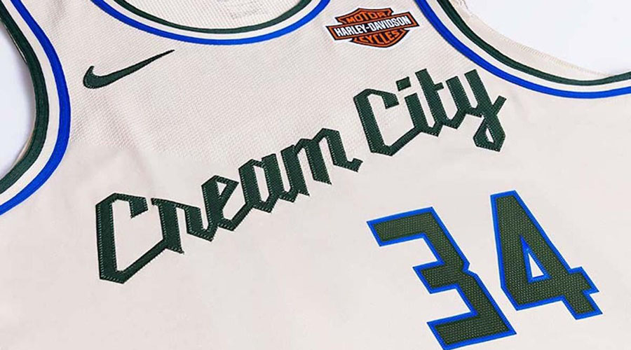 milwaukee bucks city edition cream city