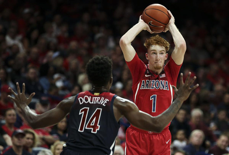 nico mannion arizona
