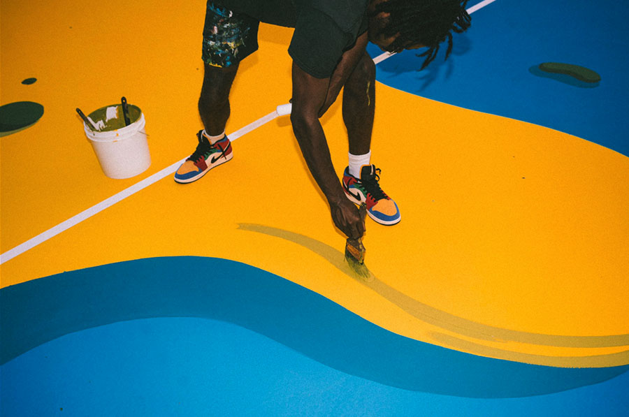 playground jumpman los angeles blue the great