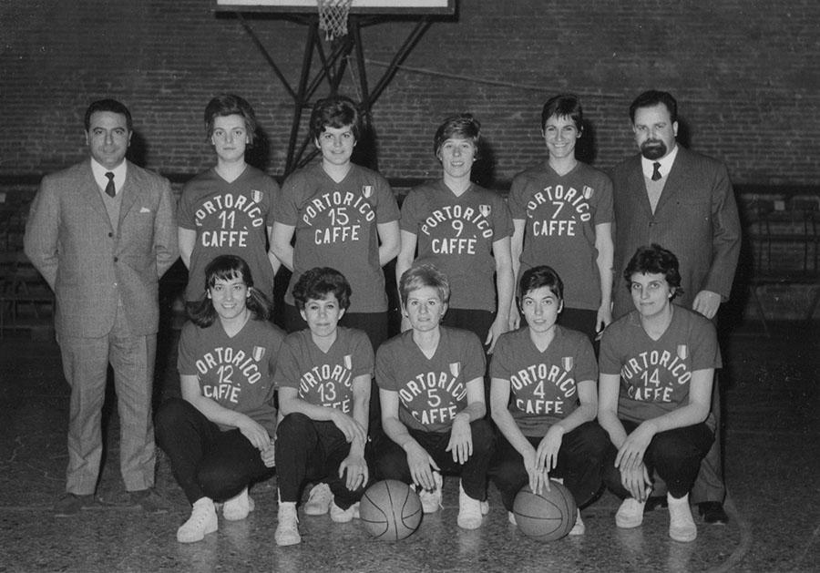 vicenza basket femminile 1966