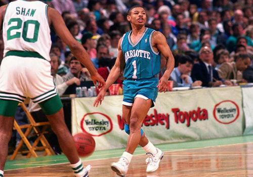 giocatori NBA più bassi muggsy bogues charlotte hornets