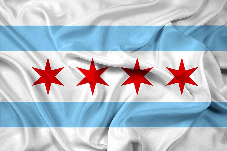 bandiera di chicago