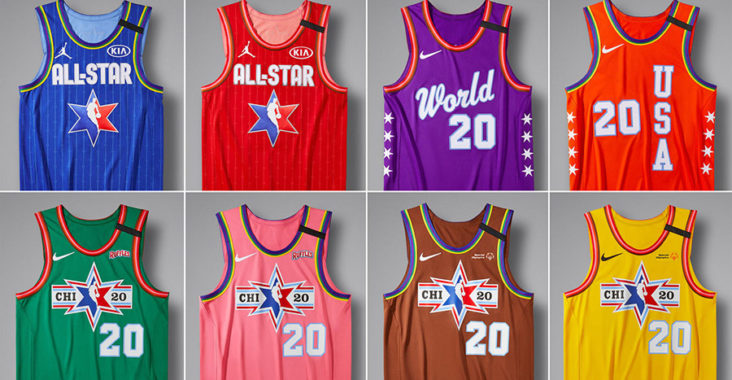 maglie all-star game nba 2020 chicago