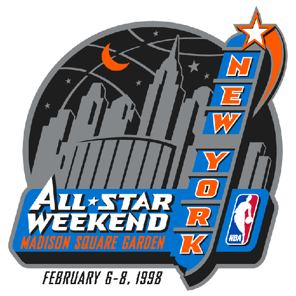 all-star game nba 1998 logo