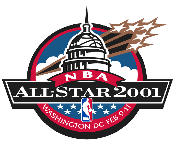 nba all-star game 2001 logo