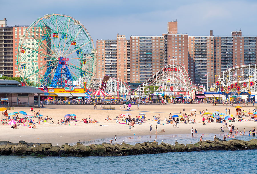 coney island brooklyn new york
