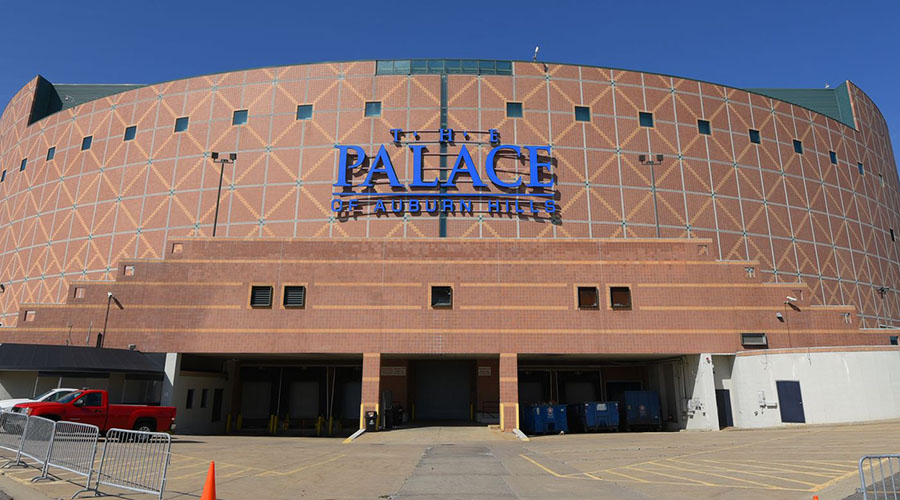 the palace of auburn hills detroit
