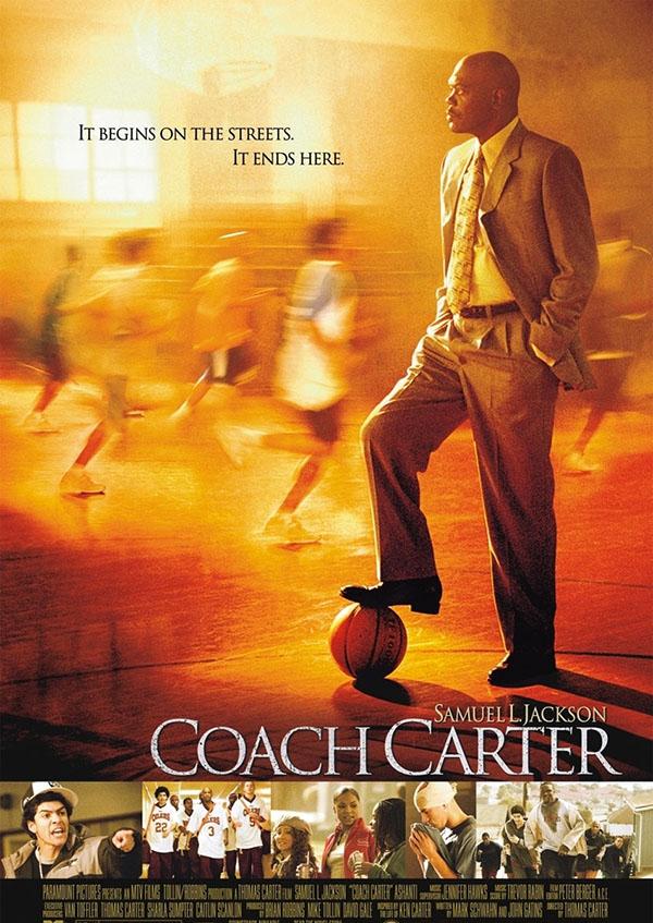 film di basket coach carter