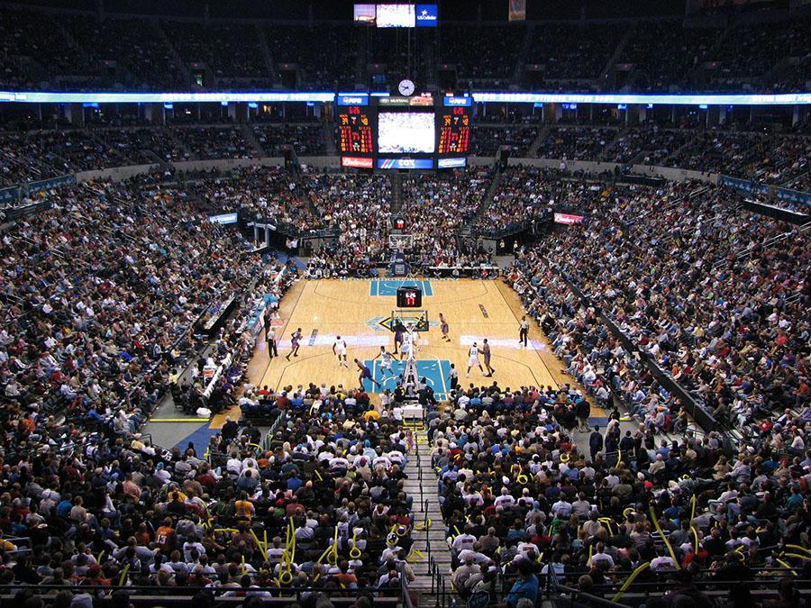 oklahoma city hornets arena