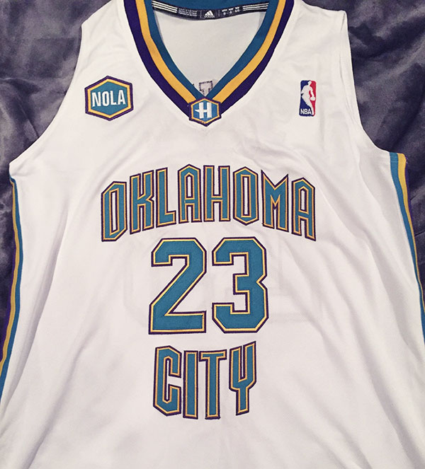 oklahoma city hornets jersey