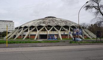 palazzetto dello sport roma viale tiziano palatiziano