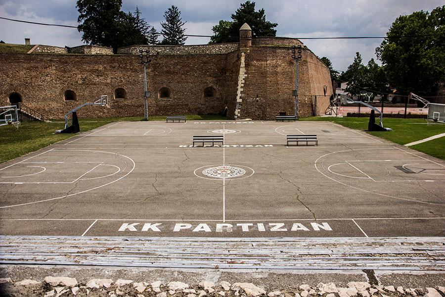 playground fortezza di belgrado partizan