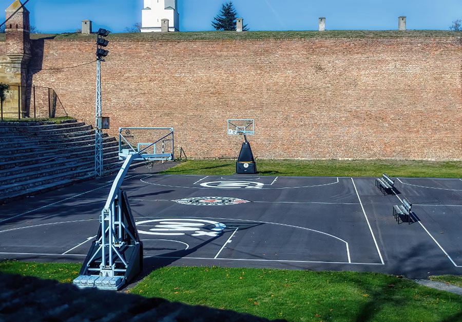 campo basket belgrado partizan